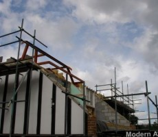 What's the deal with building extensions?  choosing your contractors