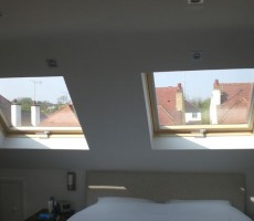Such a pane – skylights and windows in loft conversions